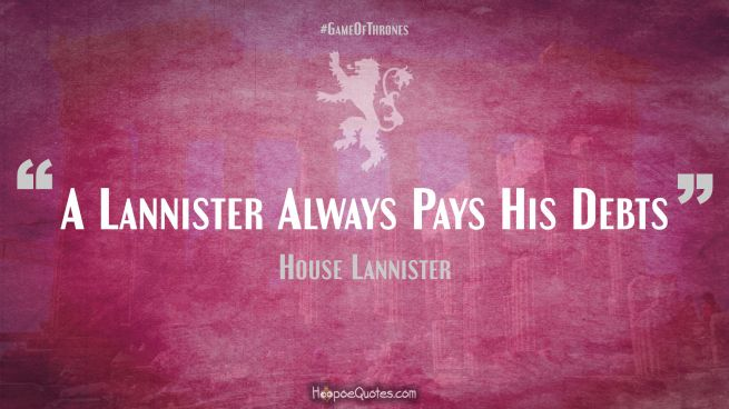 Houses Of Game Of Thrones Blog